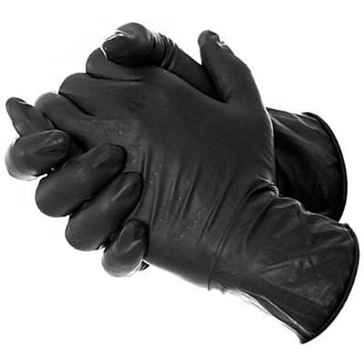Blossom черные нитриловые перчатки