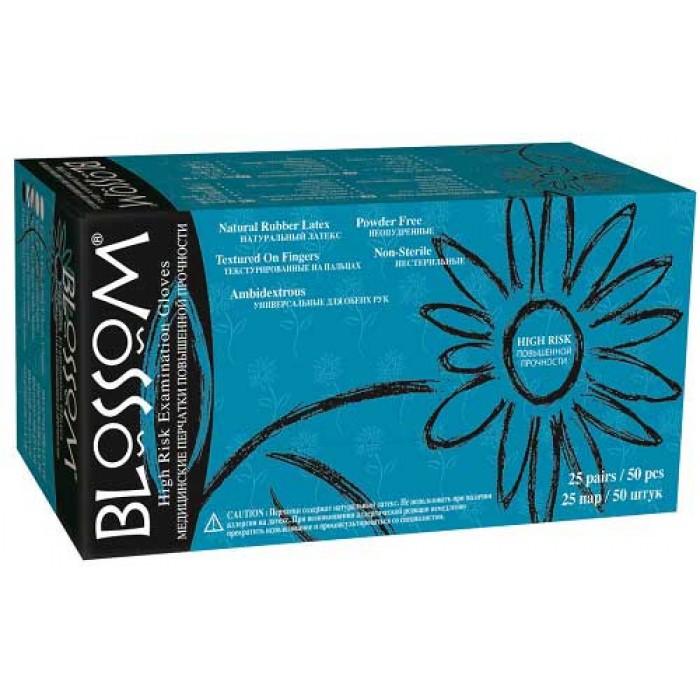 Blossom High Risk латексные перчатки повышенной прочности, 25 пар