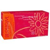 Blossom латексные неопудренные текстурированные перчатки, 50 пар