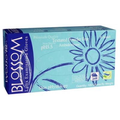 Blossom латексные перчатки с рН 5,5, 50 пар (фотография)