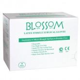 Blossom хирургические стерильные латексные перчатки, 50 пар