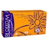 Blossom с Алоэ Вера и витамином Е неопудренные латексные перчатки, 50 пар