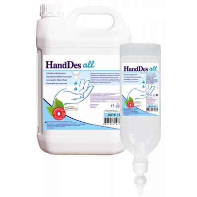 ХендДез Олл бесспиртовой антисептик для рук (фотография)