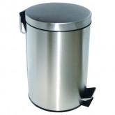 Ksitex GB-LM ведро для мусора с педалью, матовый, 5-20 л