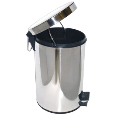 Ksitex GB-20L ведро для мусора с педалью, 20 л (фотография)