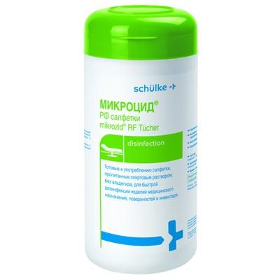 Микроцид РФ спиртовые дезинфицирующие салфетки (фотография)