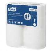 Туалетная бумага Tork в бытовых рулонах, 2-слоя, 23 м