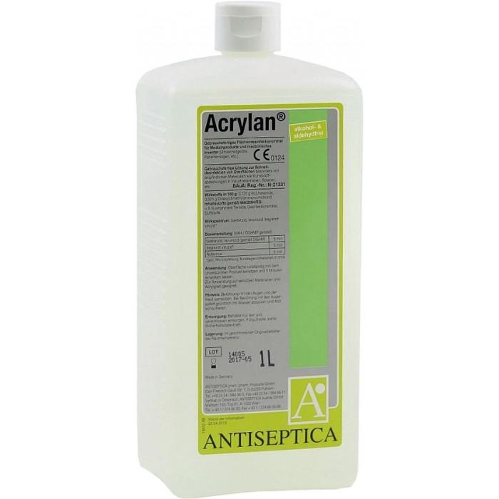 Акрилан средство для экстренной дезинфекции поверхностей