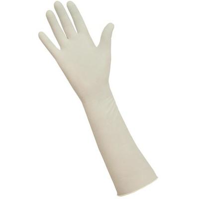 Макси перчатки латексные удлиненные неопудренные