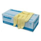 DentaMAX перчатки латексные смотровые неопудренные двойной хлоринации, 50 пар