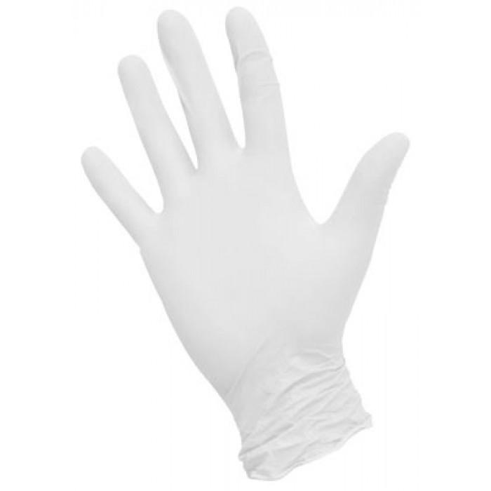NitriMax нитриловые перчатки неопудренные смотровые белые, 50 пар