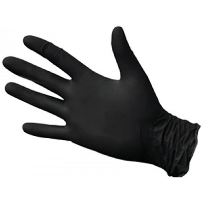 Нитриловые перчатки НитриМакс черные, 50 пар