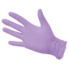 NitriMax нитриловые перчатки неопудренные смотровые сиреневые, 50 пар