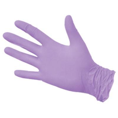 NitriMAX сиреневые нитриловые перчатки, 50 пар (фотография)