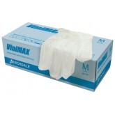 ViniMAX перчатки виниловые неопудренные, 50 пар