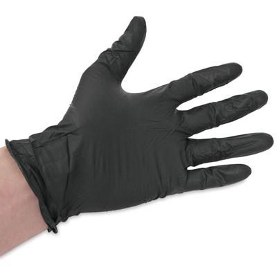 ViniMAX виниловые перчатки черные