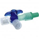Discofix C кран трехходовой инфузионный синий