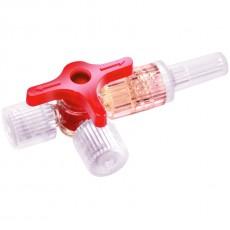 Discofix C кран трехходовой инфузионный красный