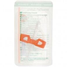 Venofix Safety безопасная игла-бабочка 25G с Луер Лок адаптером, 50 шт.
