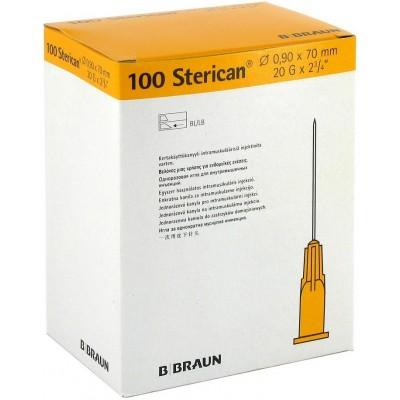 Упаковка инъекционных игл 20G 0,9 х 70 мм Стерикан