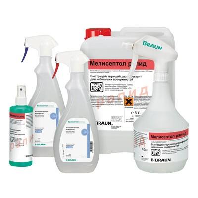 Мелисептол рапид средство для экстренной дезинфекции поверхностей (фотография)