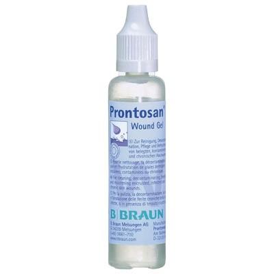 Пронтосан гель 30 мл для очистки и дезинфекции ран (фотография)