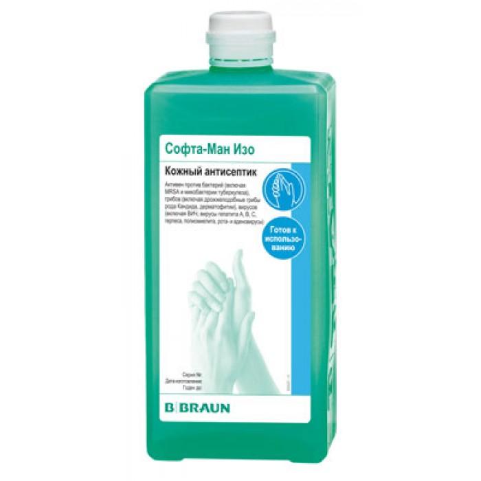 Софта-Ман Изо кожный антисептик для рук