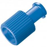 Инфузионная заглушка Комби-стоппер синяя, 100 шт.