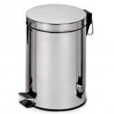 Binele Classic корзина для мусора с педалью, полированная, 5-30 л