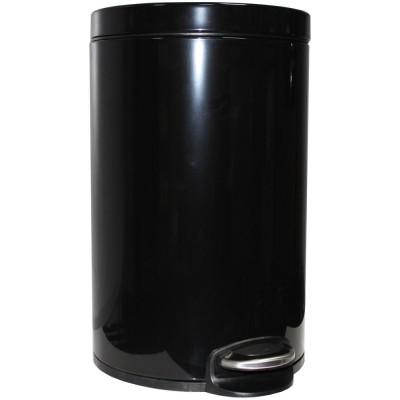 Binele Lux WP20LB ведро для мусора с педалью черное