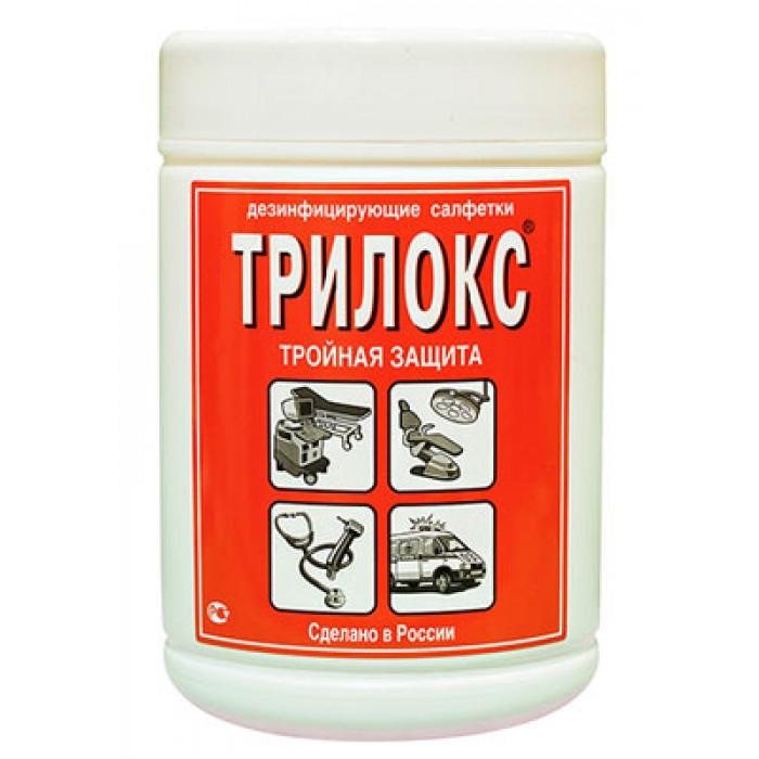 Трилокс спиртовые дезинфицирующие салфетки