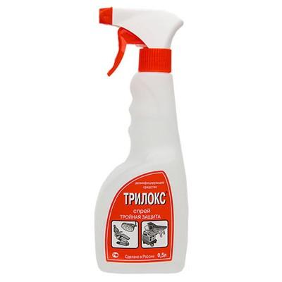 Трилокс-спрей для экстренной дезинфекции поверхностей (фотография)