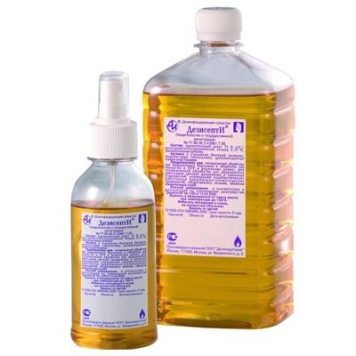 ДезисептИ кожный антисептик для дезинфекции рук (фотография)