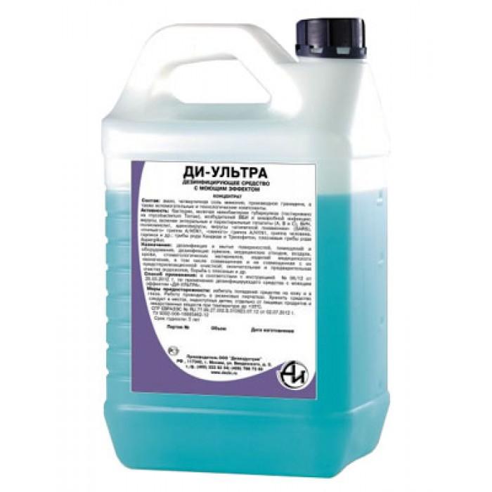 Ди-Ультра дезинфицирующее средство для поверхностей и инструментов