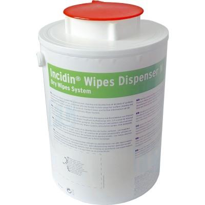 Incidin Wipes Dispenser диспенсерая система для салфеток красная крышка (фотография)