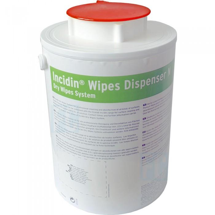 Incidin Wipes Dispenser диспенсерая система для салфеток красная крышка