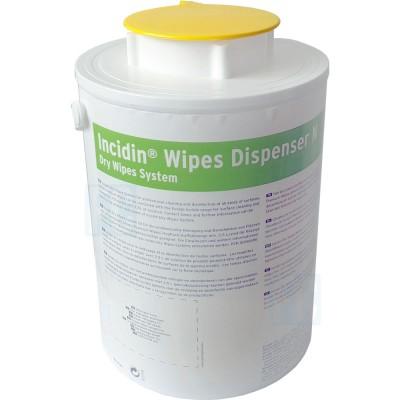 Incidin Wipes Dispenser диспенсерая система для салфеток желтая крышка (фотография)