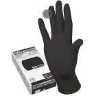 Manual BN117 нитриловые перчатки неопудренные смотровые черные, 50 пар