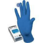 Manual FN309 нитриловые перчатки неопудренные смотровые синие, 50 пар
