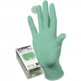 Manual NP409 неопреновые перчатки неопудренные смотровые светло-зеленые, 50 пар