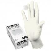 Manual WN916 нитриловые перчатки неопудренные смотровые белые, 100 пар