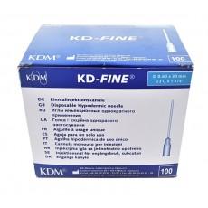 KD-Fine инъекционная игла 23G (0,60 х 30 мм), 100 шт.