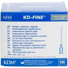 KD-Fine инъекционная игла 27G (0,40 х 18 мм), 100 шт.