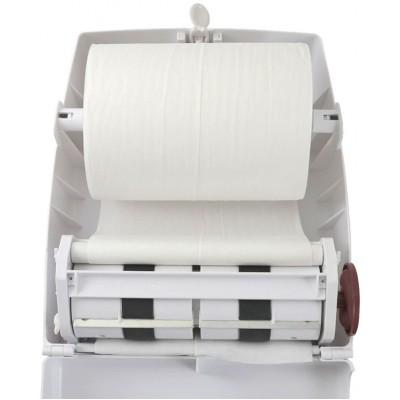 Диспенсер для бумажных полотенец в рулонах Ksitex AC1-18 внутри