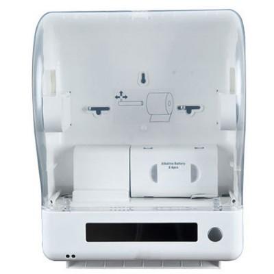 Сенсорный диспенсер для полотенец в рулонах Ksitex Z-1011/1 спереди