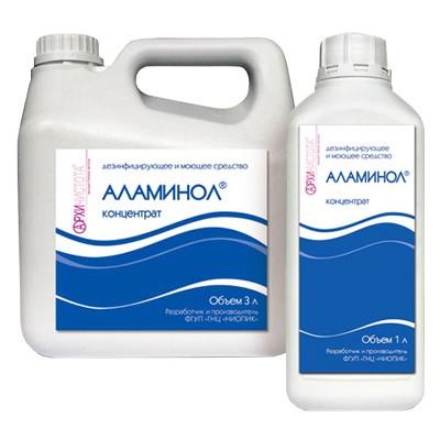 Аламинол дезинфицирующее средство для поверхностей и инструментов (фотография)