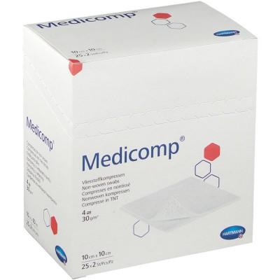 Медикомп салфетки из нетканого материала 10 х 10 см, 50 шт. (фотография)