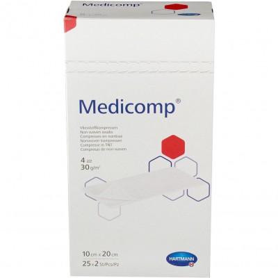 Медикомп салфетки из нетканого материала 10 х 20 см, 50 шт. (фотография)