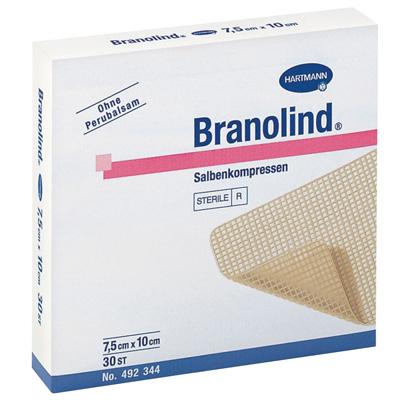 Branolind мазевая повязка из крупноячеистой ткани (фотография)