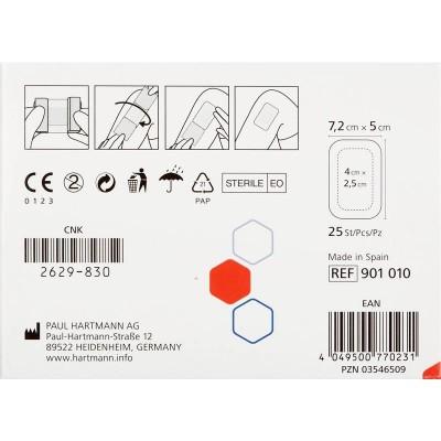 Космопор Адванс пластырная повязка с суперабсорбентом 7,2 х 5 см, 25 шт.